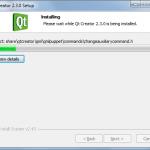 Instalacja aplikacji QtCreator
